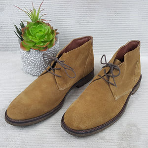 Johnston Murphy COPELAND Suede Chukka Boots Sz 13